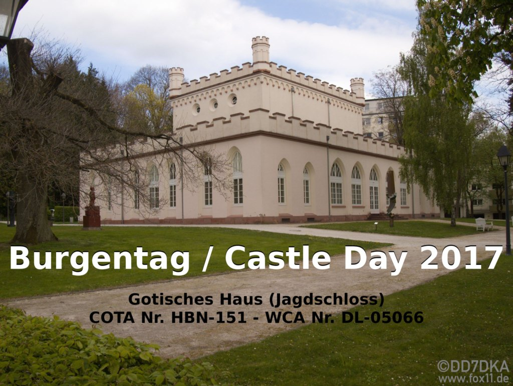 Gotisches Haus Bad Homburg - Burgentag / Castle Day 2017