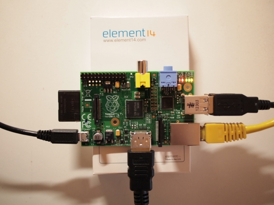 Raspberry PI rev. B