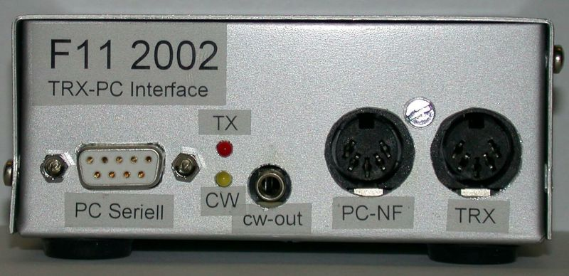 Audio Interface von vorne